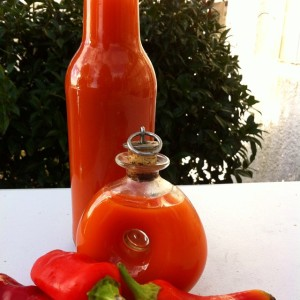 Asa's home made Chilli Sauce