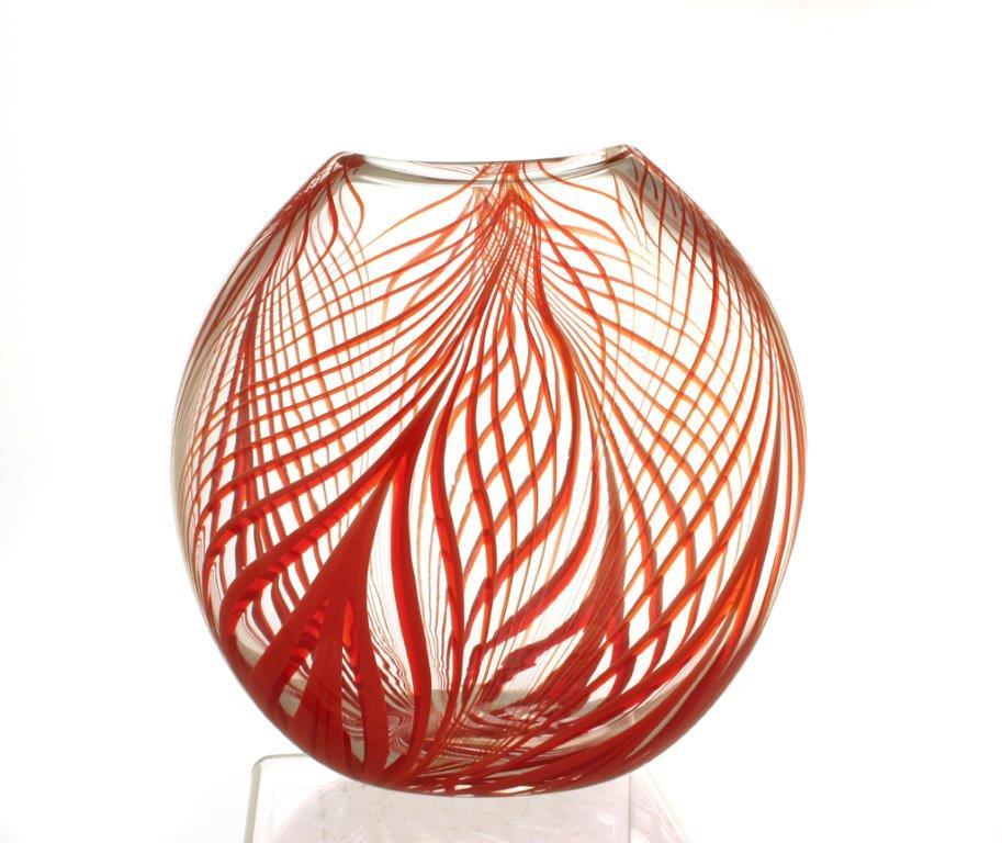 Natalies vase 21cm ht 19cm wdth